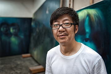 künstlerfotograf hamburg peking china maler painter atelier