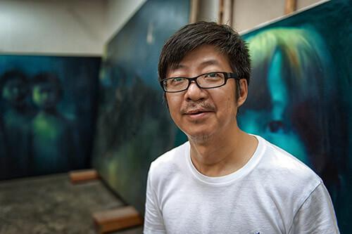 Künstlerfotograf hamburg Maler china he jinwei